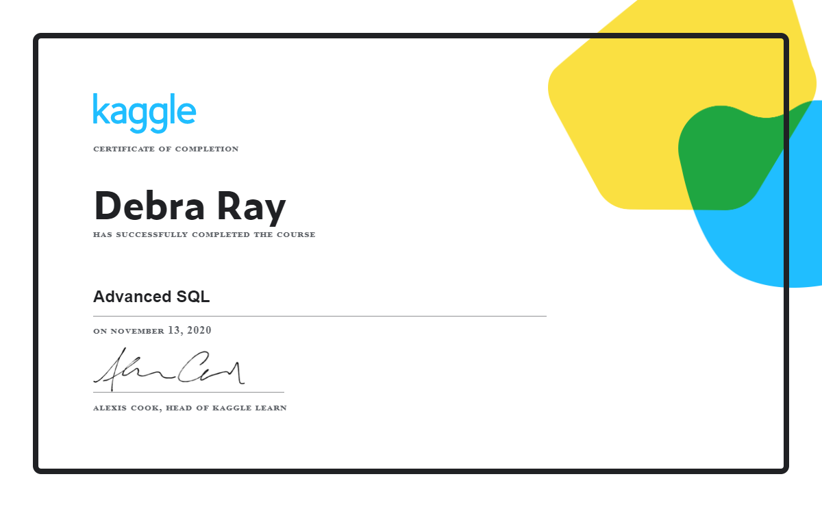 Debra Ray - Advanced SQL