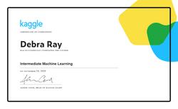 Debra Ray - Intermediate Machine Learnin