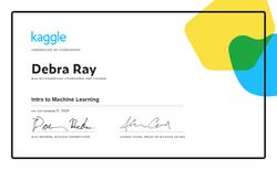 Debra Ray - Intro to Machine Learning