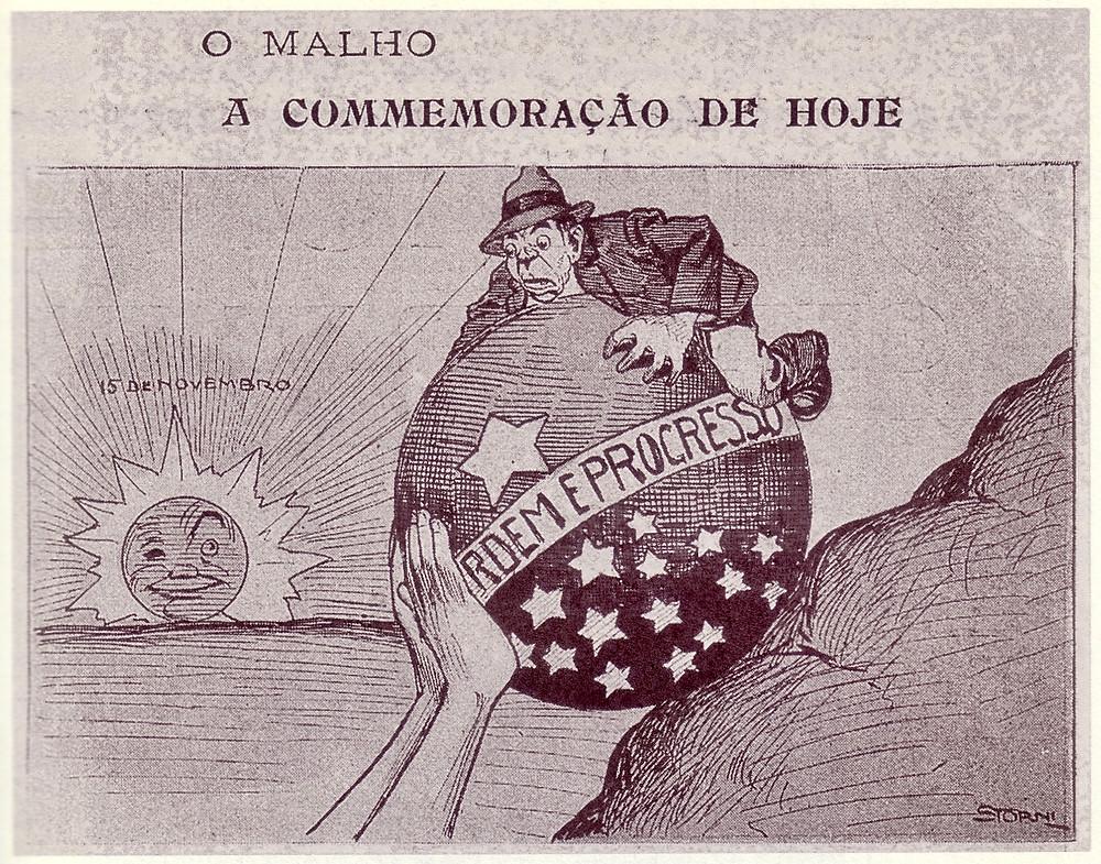 """""""O Malho"""", 15/11/1913 - A commemoração de hoje"""" - 1913"""