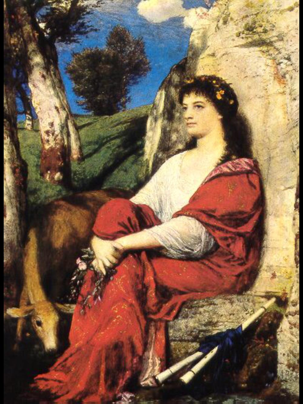 Euterpe, 1872 - Arnold Böcklin (1827-1901)