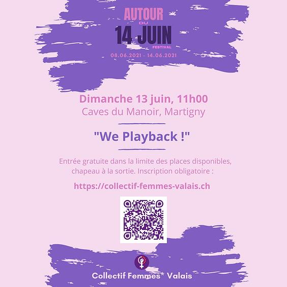 We playback !