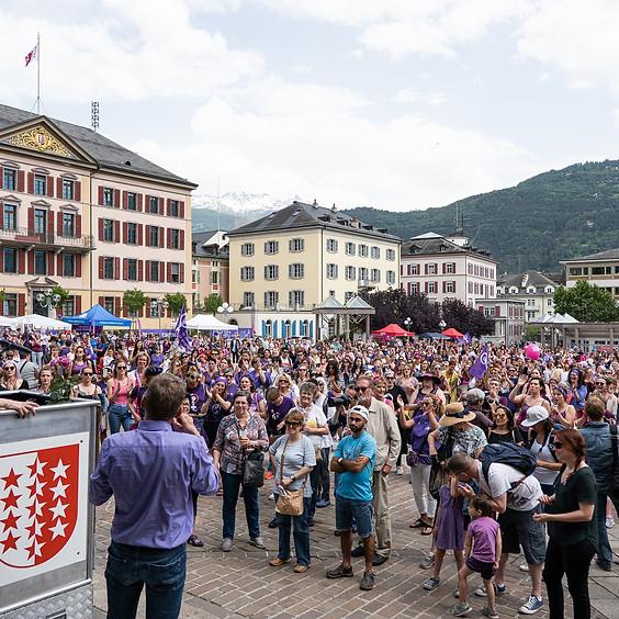 Bilan d'une épopée : cinquante ans de droit de vote des femmes en Valais