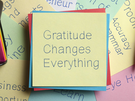 Episode 3: Gratitude, is the attitude!