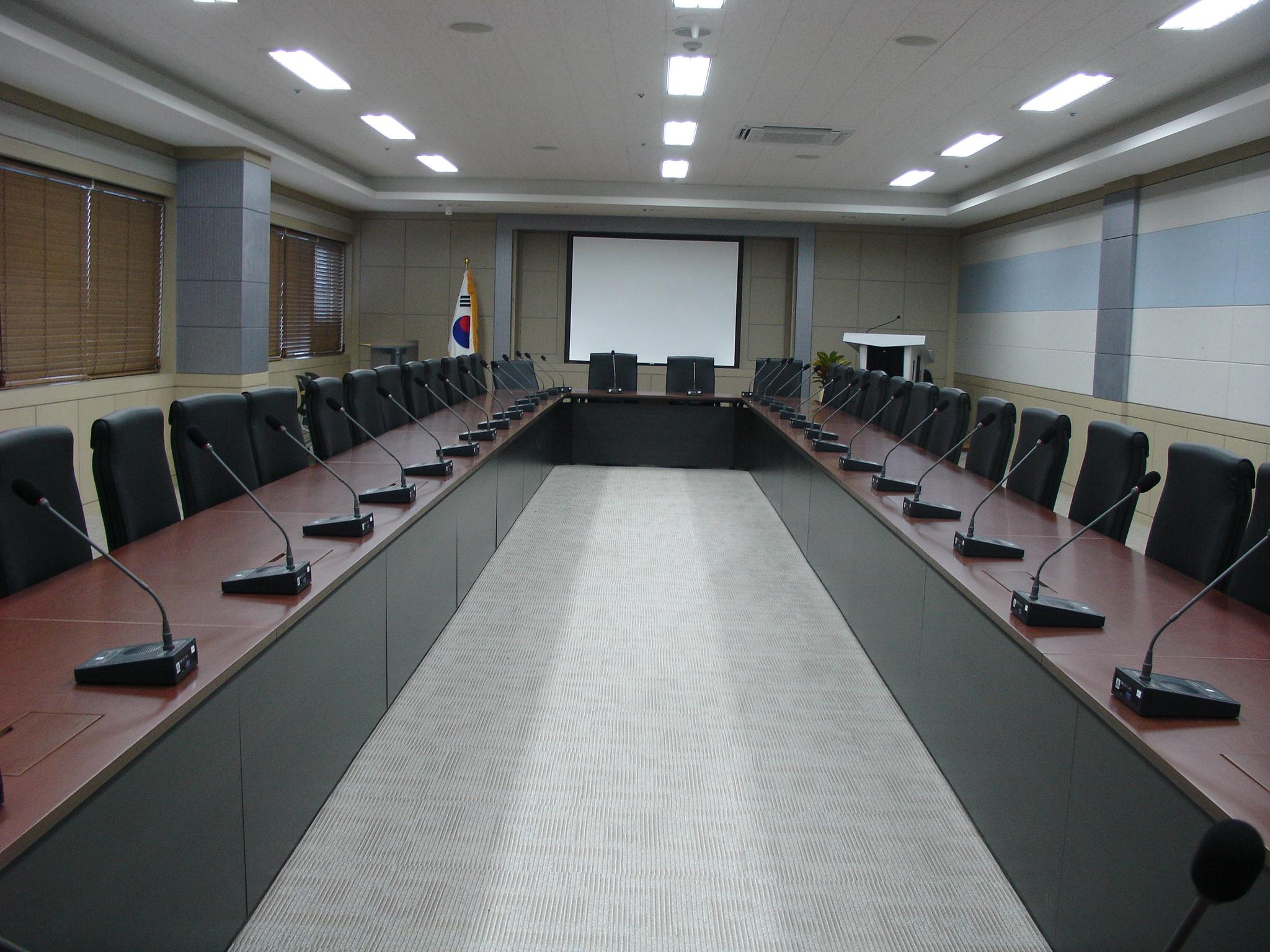 신기술연수센터 회의실 오디오시스템