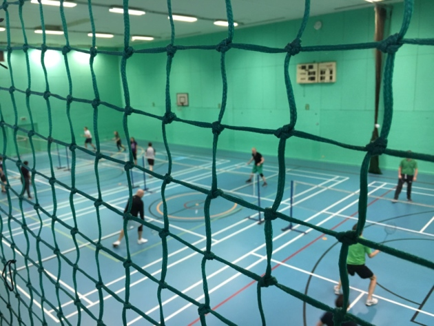 Battle to save sports hall