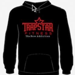 TrapStar Fitness Logo Hoodie