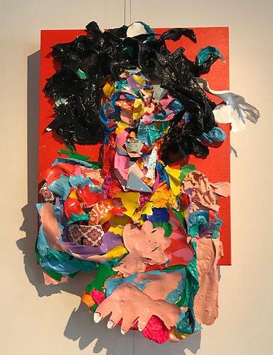"""40. Abercrombie - Jon Parlangeli, Acrylic (17"""" W x 27"""" H)"""