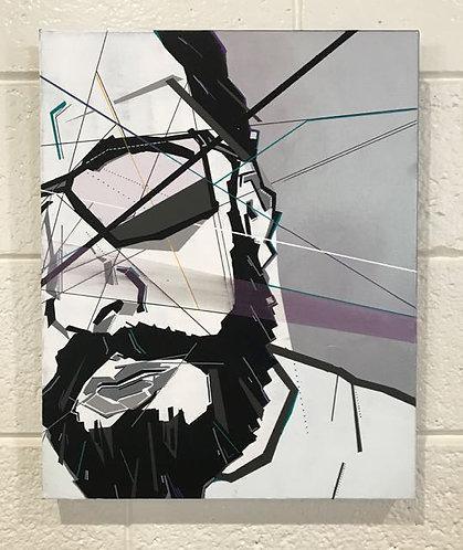 "18. Be My Friend - Matthew Garin, Acrylic on Canvas (16"" W x 20"" H)"