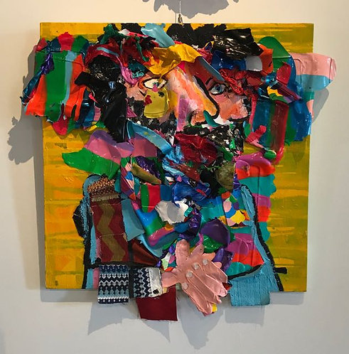 "41. Immigrant - Jon Parlangeli, Acrylic (29"" W x 27"" H)"