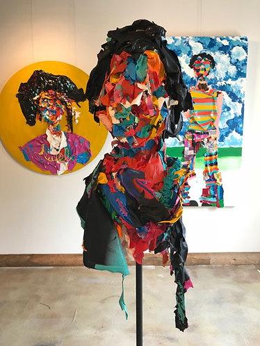 "67. Aika - Jon Parlangeli, Sculpture (Base 24""x24"", Height 69'')"