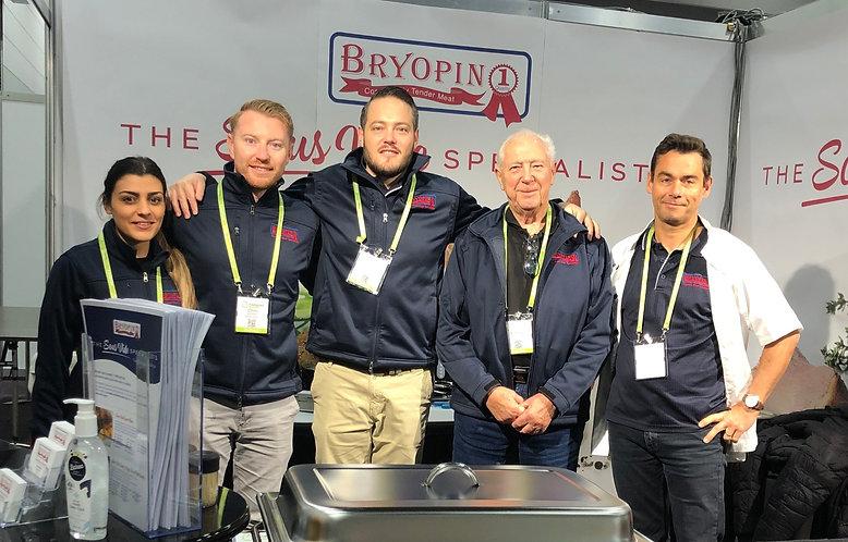 Bryopin Sales Team: Left to Right: Rebecca, Chris, Alex, Nicholas. Pierre