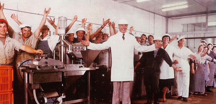Our Co. Founder Michael Meyer in the Permanent Pantry Days