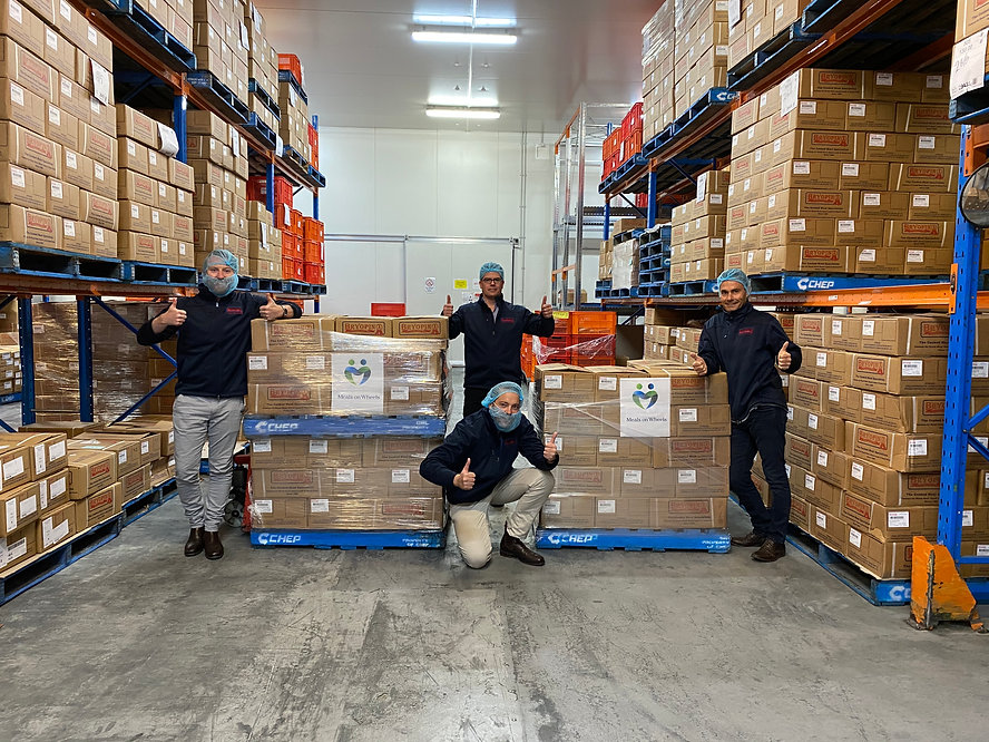 Bryopin Sales Teams with Meals on Wheels Donation