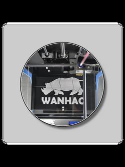 WANHAO DUPLICATOR 5S STEEL EXOFRAME