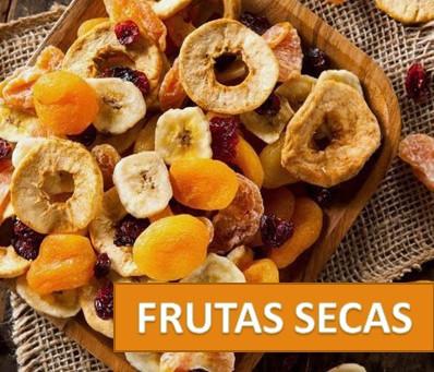 Frutas secas são boas opções?