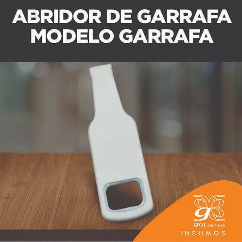 Abridor de Garrafa Modelo Garrafa