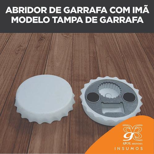 Abridor de Garrafa com imã Modelo Tampa de Garrafa