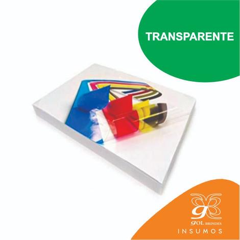 Adesivo Sublimático Transparente A4