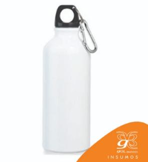 Squeeze Alumínio Branco 750 ml