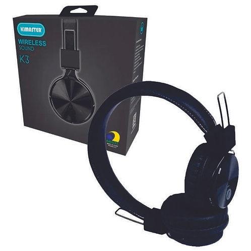 Fone de ouvido Bluetooth Kimaster K3 Wireless