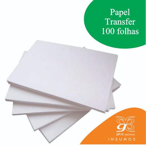 Papel A4 para transfer 90 g - pacote com 100 folhas