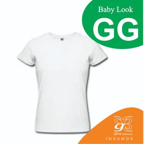 Camisa Baby Look Poliester GG