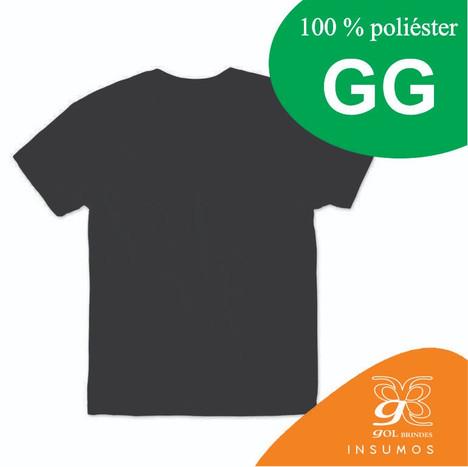 Camisa Preta GG poliester