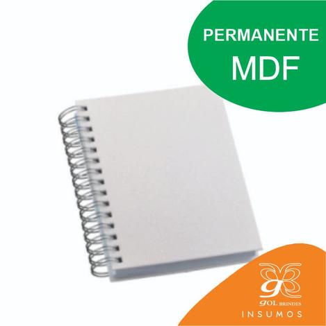 Agenda Wire-o MDF Permanente Sublimática