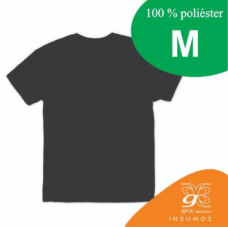 Camisa Preta Poliester M