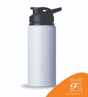 Squeeze Alumínio 600 ml