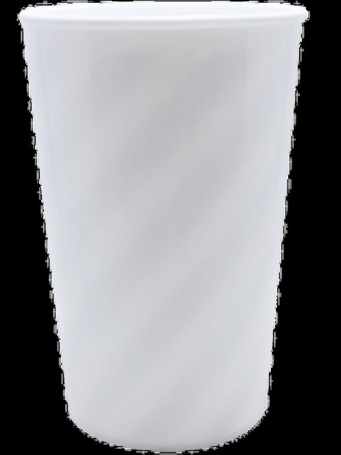 Copo Twistter Acrílico Branco 600ml