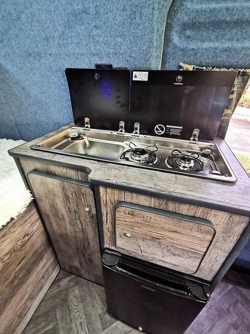 Universal kitchen pod -1200mm W x 900mm H x 420mm D