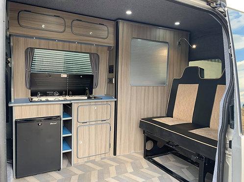 MWB - Full width kitchen POD with applicances