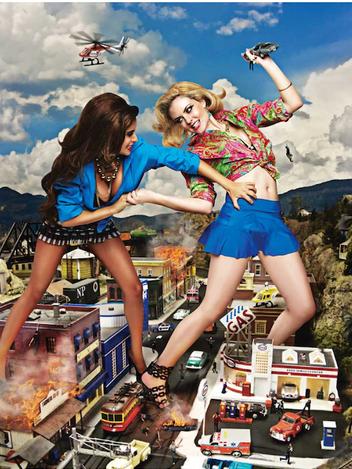 50 Foot Women Ad