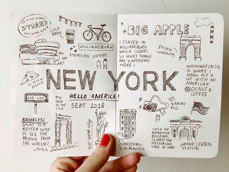 New York, illustrated journal