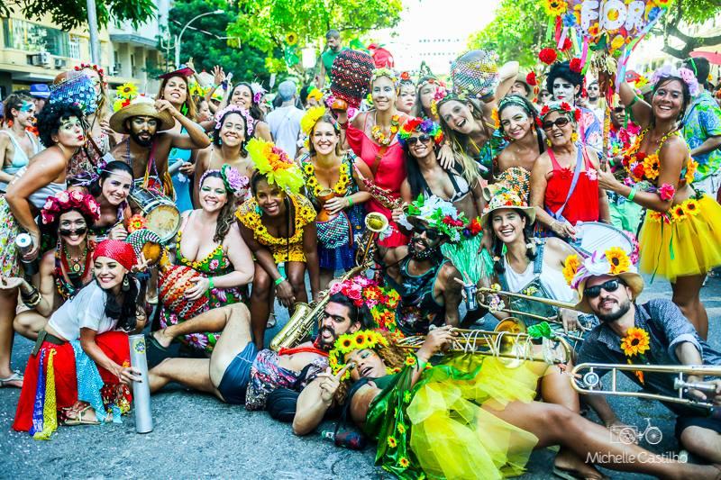 Carnaval Bloco Vem Cá, Minha Flor