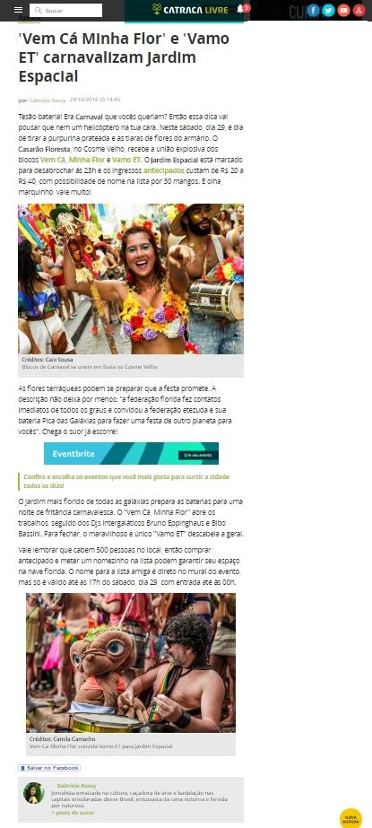 Catraca Livre - 24.10.2016