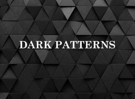 Securing Our Communities: Dark Patterns