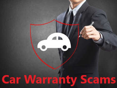 Securing Our Communities: Car Warranty Scams