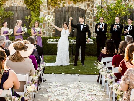 Beyond Romantic Winery Wedding °September 13, 2019°