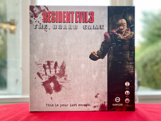Resident Evil 3 : The Board Game - Review