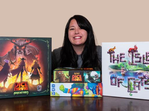 Top 3 Games - Sarah