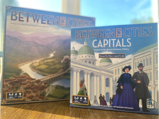 Between Two Castles with Capitals Expansion Review
