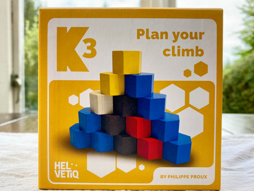 K3 - Wooden Board Game