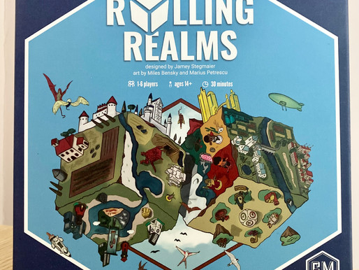 Rolling Realms Roll-and-Write Game Review.