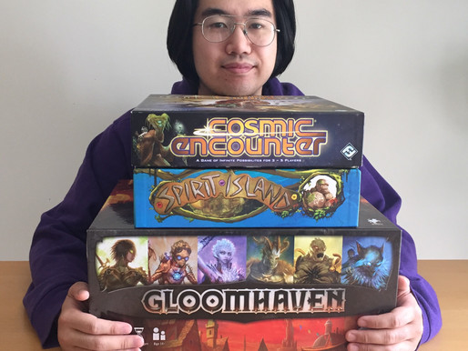 Top 3 Games - Mike