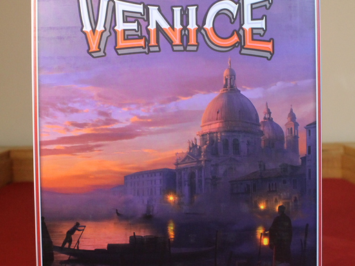 Venice – A Game of Glorious Gondoliers?