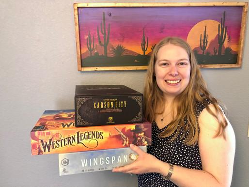 Top 3 Games - Cindy Pastorius