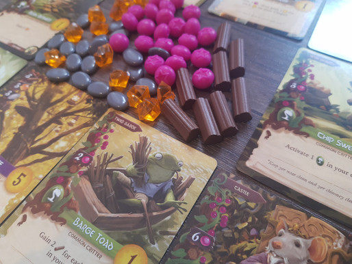 Tagine Tribes and Roasted Everdell.